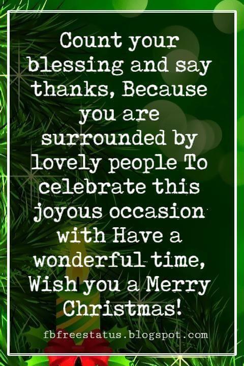 christmas card greetings wording