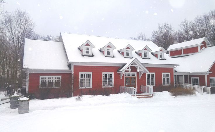 Temple's Sugar Bush coated in a nice white blanket of snow. March 24, 2017  Venue: www.templessugarbush.ca  Photo Credit: http://www.stephaniewhite.style/bring-on-the-maple-at-temples-sugar-bush/