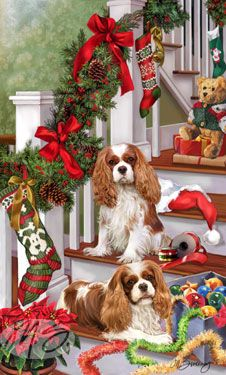 Cavalier - Tree Trimmings  Her work is beautiful.....i've ordered cards with scotties before from her. Jeanne SM