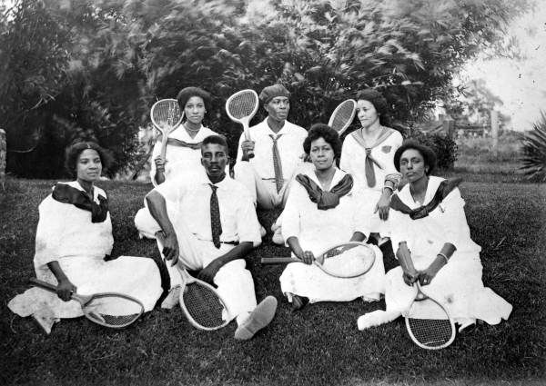 Tennis team, Florida Agricultural and Mechanical College for Negros (1915)