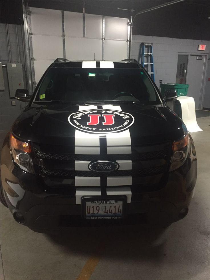 Vehicle Wrap for Jimmy John's by SpeedPro Imaging DuPage | http://www.speedpro.com/locations/dupage/