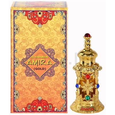 bottle design Al Haramain Amira Gold Eau De Parfum pentru femei | aoro.ro