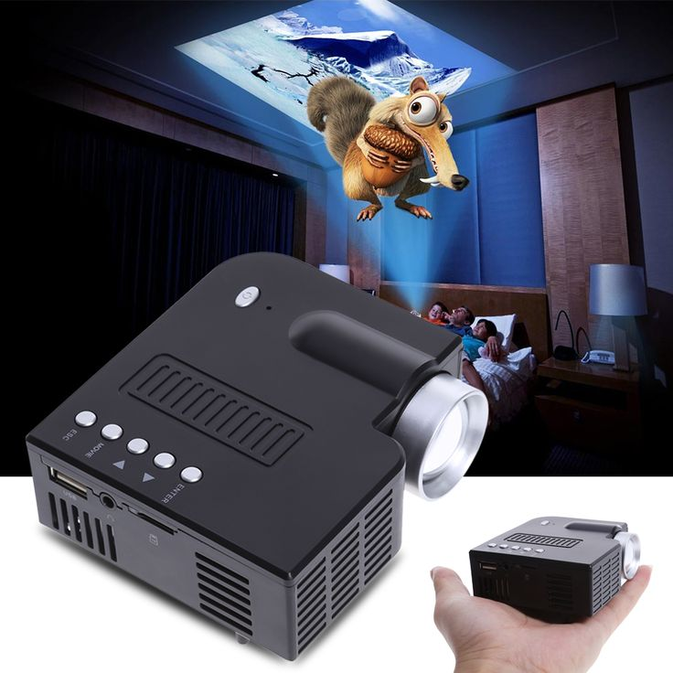 New Portable Smart Home LED Mini Projector With Handheld Full HD 1080P High Quality //Price: $83.62 & FREE Shipping //     #Phones