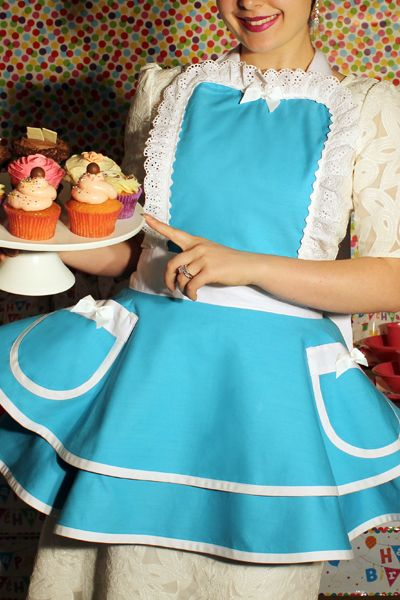 The most beautiful aprons for birthday parties, garden parties, high-teas, vintage events & hosting!!