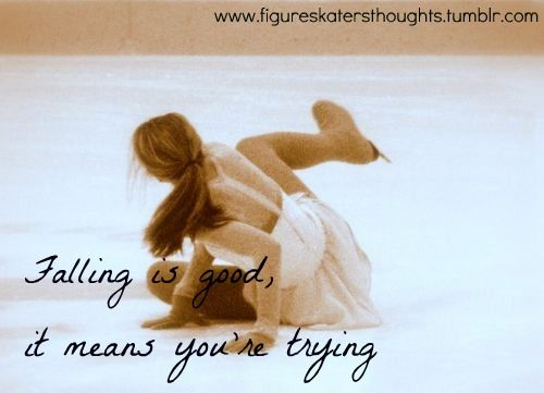 figure skates | Tumblr  <3 People don't seem to understand this....