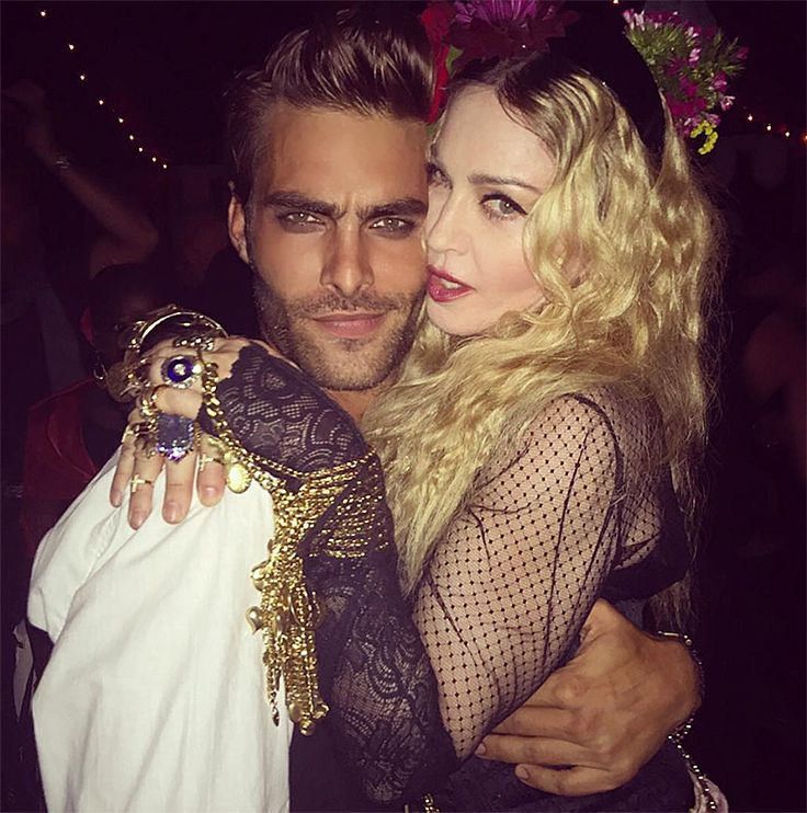 Jon Kortajarena celebrate Madonna's birthday. Photo by Sebastian Faena.