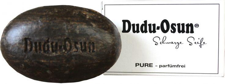 Dudu Osun® PURE - Schwarze Seife aus Afrika - parfümfrei, 150g - JB-Megastore ihr Onlineshop für Naturkosmetik