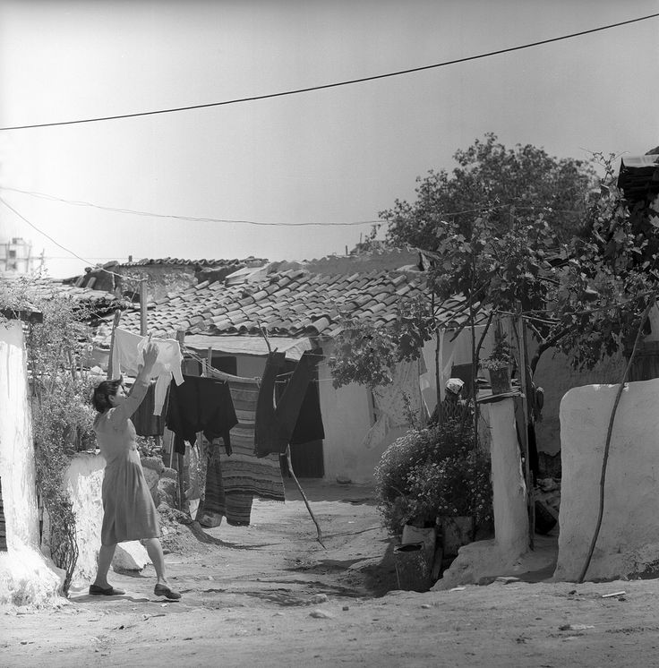 Athens, May 1959  laundry day