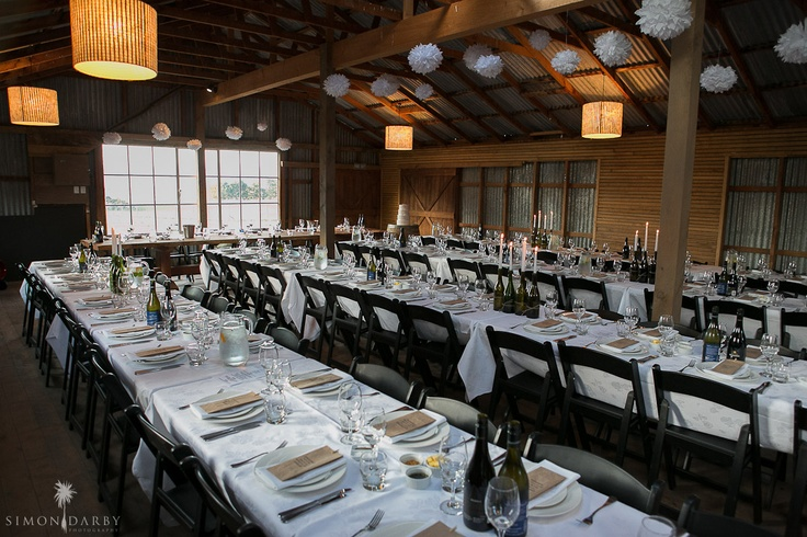 Events at Criffel Station Woolshed: Weddings