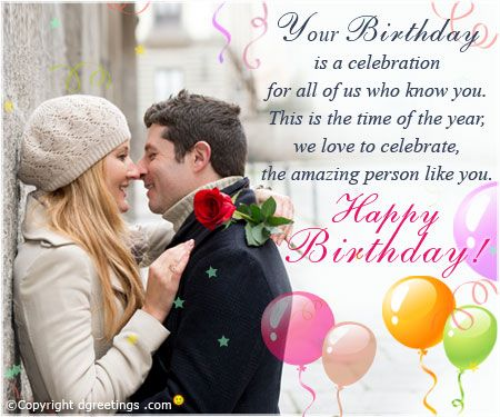 25 best ideas about Boyfriend birthday wishes – How to Send Birthday Greetings