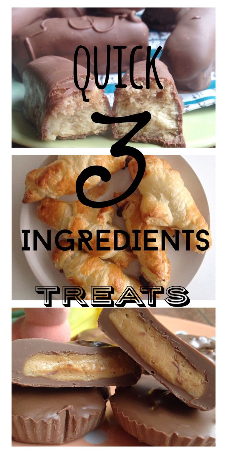 You don't need to have any cooking or baking skills to make these simple and quick 3 ingredients only treats! You do need to know that they are amazingly delicious but NOT low calories I&#821…