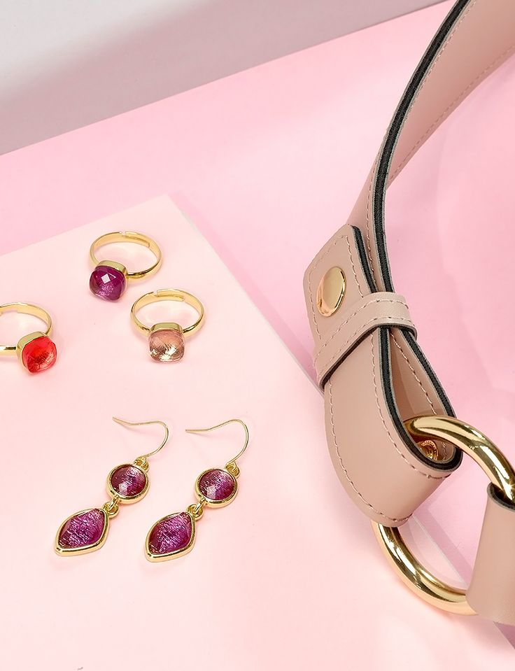 Check out the  new Luisa Collection's. Delicate pastels, golden shades and lustrous stones. #Oriflame #accessories