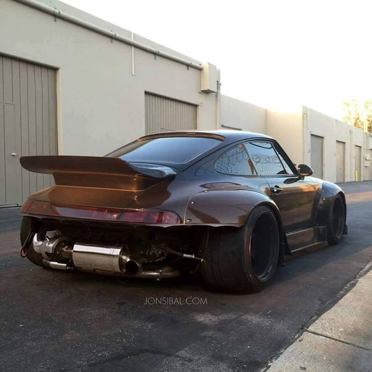 Really wide body | Anchor & Bolts #porsche #modified #german #engineering