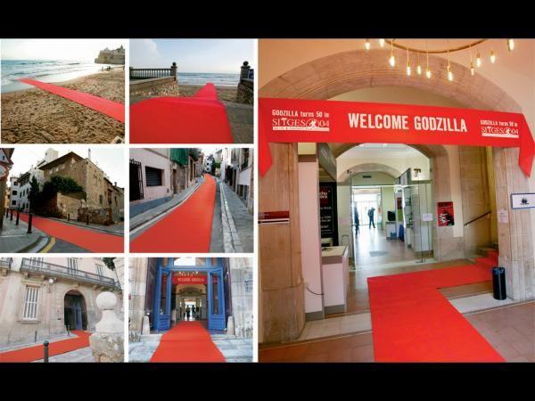Red Carpet Sitges Fantasy Film Festival Zilla S 50th Anniversary