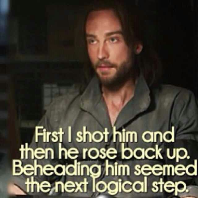 sleepy hollow ichabod.  just love his quotes!
