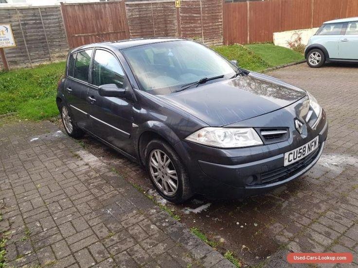 Renault Megane 1.6 VVT  petrol 2008 #renault #megane #forsale #unitedkingdom
