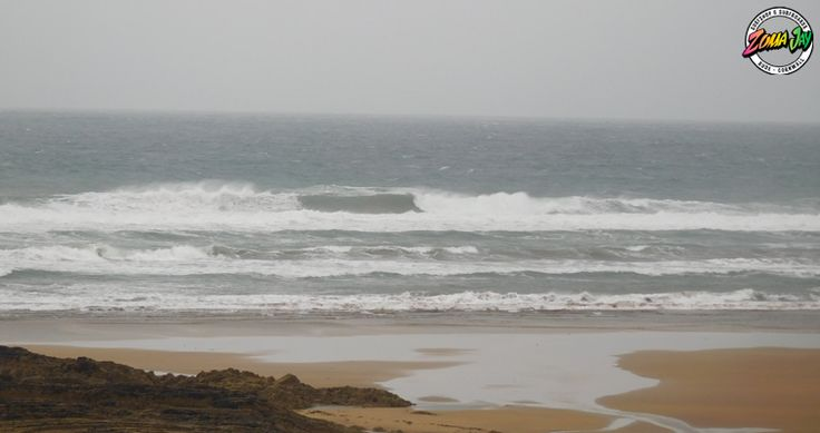 We've got some huge swell out there today, starting the day with over 5ft with very strong cross shores Certainly not for the inexperienced today - hopefully the wind will calm down later and by high tide it should be much better! High Tide (am): 04:11 (7.0m) Low Tide (am): 10:36 High Tide (pm): 16:41 (7.2m) Low Tide (pm): 23:10 Summerleaze will offer the only place to get a wave today, wait for late afternoon Check out our full report, free live web cams, and 7-day forecast here…