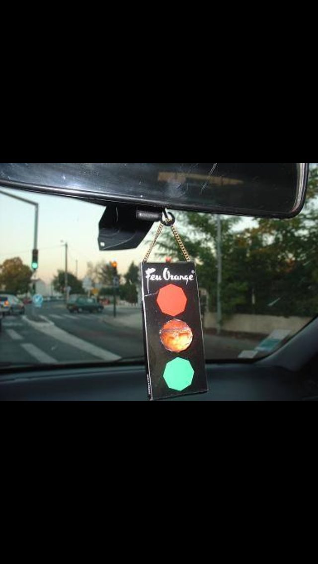 Classic traffic light car freshner