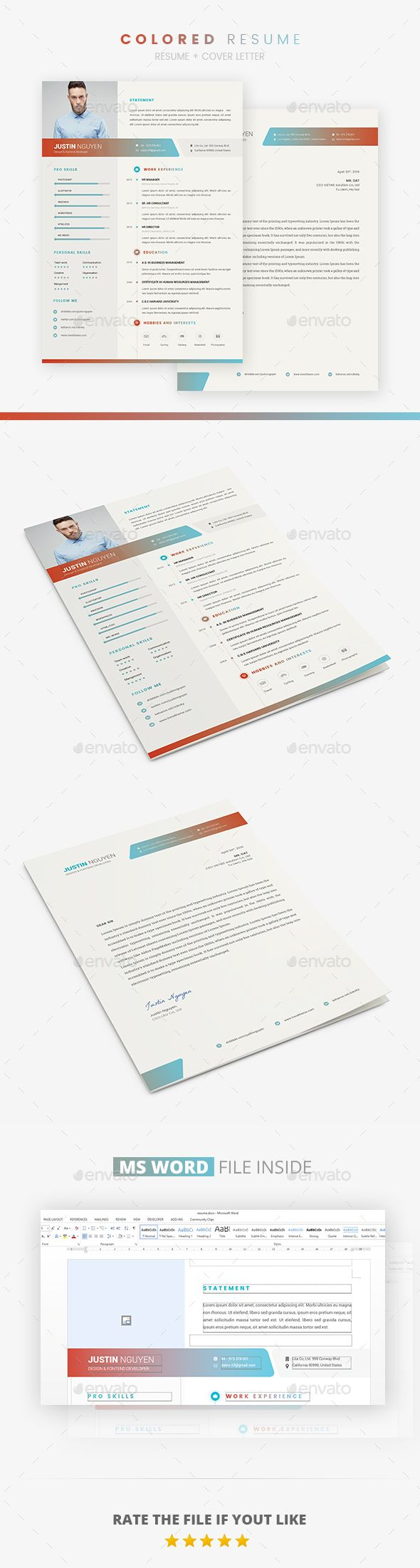 973 best images about design resumes on pinterest