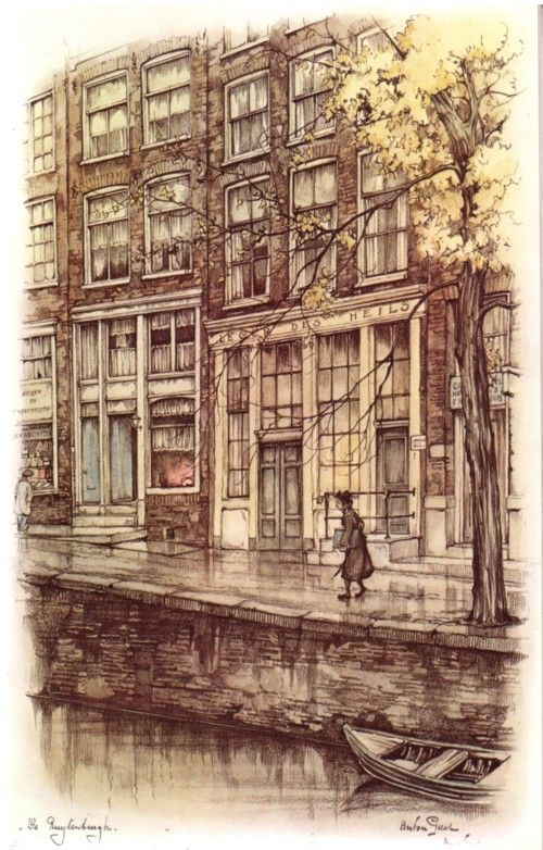 Anton Pieck, Showcase
