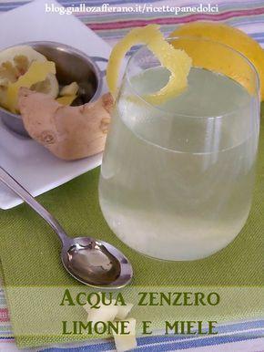 Acqua Zenzero Limone e Miele una bevanda per dimagrire