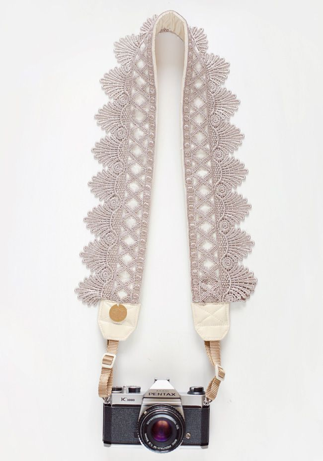 Washed Ashore Camera Strap / Bloom Theory {perfect gift for your camera buddies!}