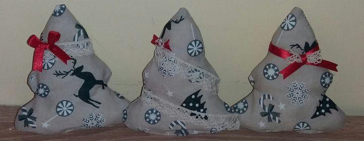 Tris alberelli natalizi, by francycreations non solo idee regalo, 5,00 € su misshobby.com