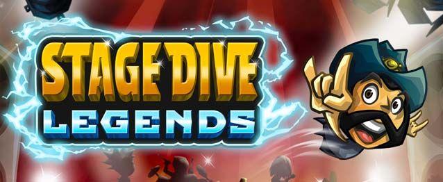 Stage Dive Legends – lo stage diving più fuori di testa per iOS e Android !