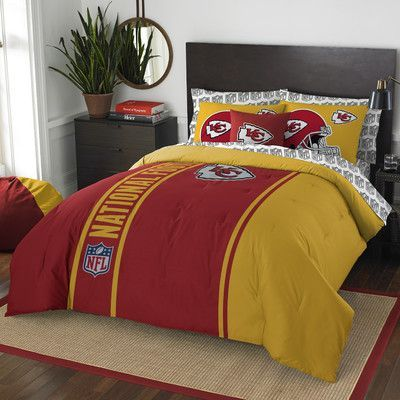 Northwest Co. NFL Chiefs Comforter Set Size: Full