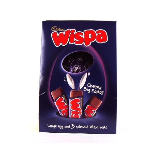 £8.99 Cadbury Wispa Easter Egg Large