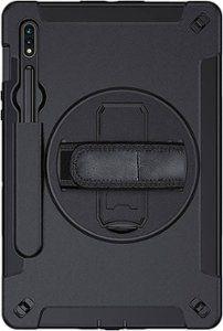 Saharacase Protection Case For Samsung Galaxy Tab S7 Plus Black Sb S S7p Hd Best Buy Samsung Galaxy Tab Galaxy Tab Protective Cases