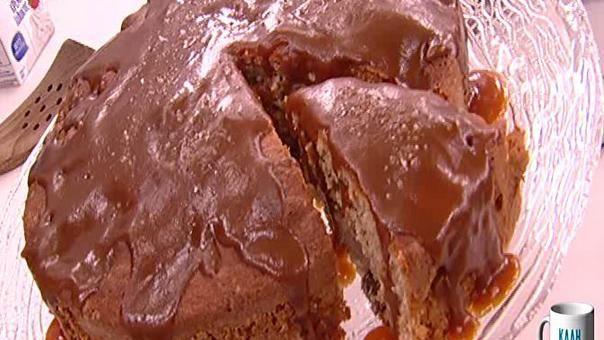 Κολασμένο σοκολατένιο cake με φράουλες   webtv, μαγειρικη   MEGA TV ΚΑΛΗΜΕΡΟΥΔΙΑ
