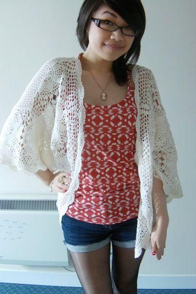 Crochet Kimono Crochet Pinterest