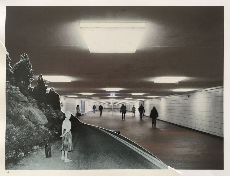 Markus Boesch / Collage 13.5 cm x 17,7 cm