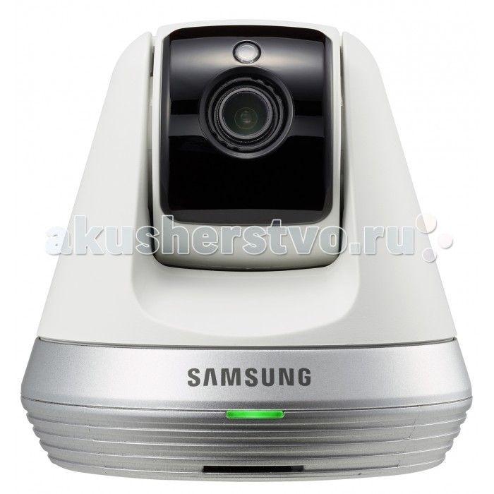 Samsung Wi-Fi видеоняня SmartCam  Samsung Wi-Fi видеоняня SmartCam  Видеоняня от всемирно известной торговой марки Samsung. Оснащена всеми необходимыми функциями для комфортного и безопасного удалённого контроля за ребенком. Wi-Fi видеоняня непрерывно отслеживается звуки и движение в детской комнате. Если ваш малыш расплачется или, проснувшись начнёт двигаться, то видеоняня Samsung незамедлительно оповестит вас с помощью уведомления на смартфоне, планшете или персональном компьютере…