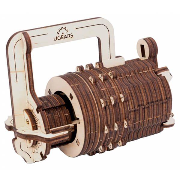 Mechanisch houten bouwpakket combinatieslot