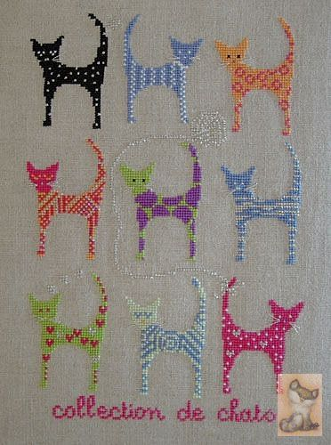 you could do these in cross-stitch