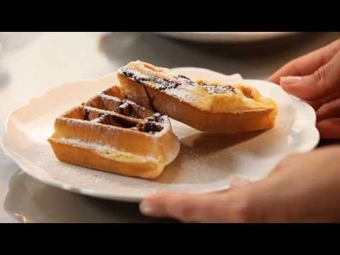 Waffles con Top al Cioccolato con Csaba dalla Zorza - YouTube