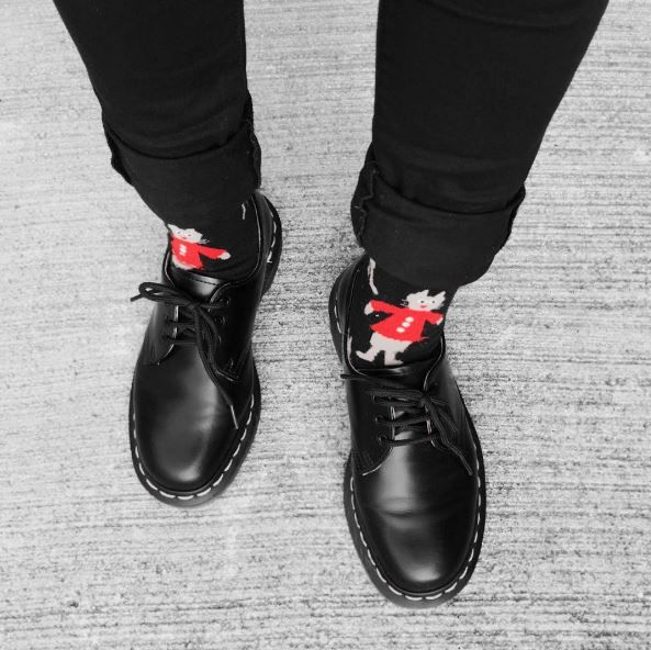 Festive Docs and Socks: The 1461 shoe, shared by _____1028_____.