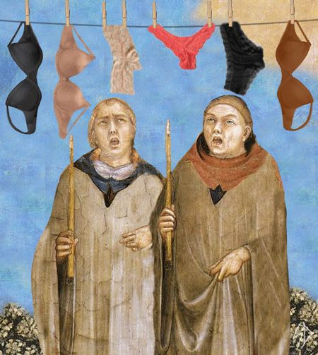 gif drole peinture renaissance 09 Des gif amusants à base de peintures de la renaissance  Famous Renaissance work of art re imagined as a gif. Totally hilarious!