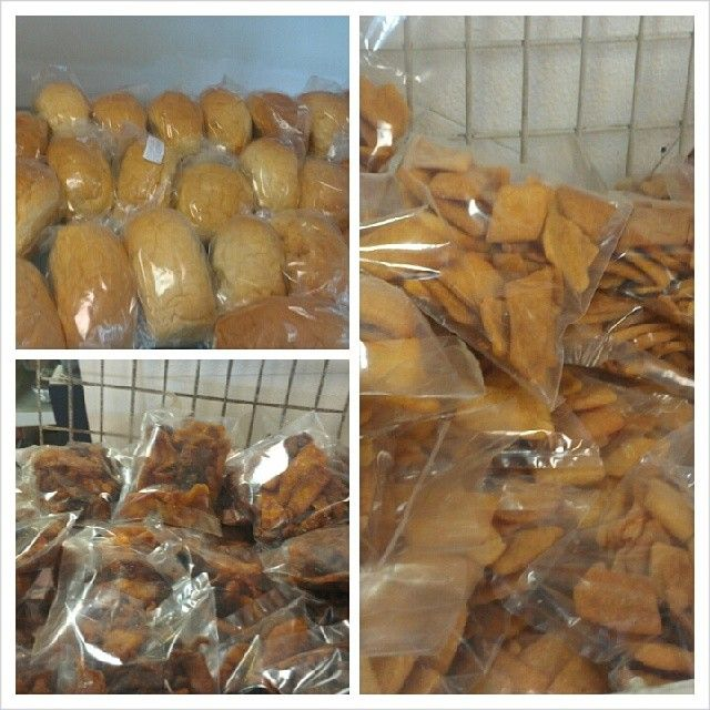 Sweet bread #plantainchips and #chinchin