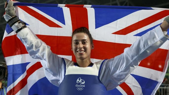 Bianca Walkden wins bronze Rio 2016.