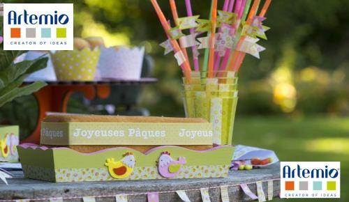 Pâques enfants - Décorations faciles | Artemio Créateur d'idées