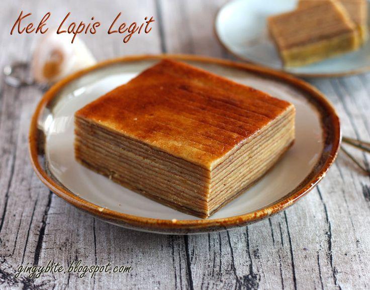 Kek Lapis Legit / Thousand Layer Cake