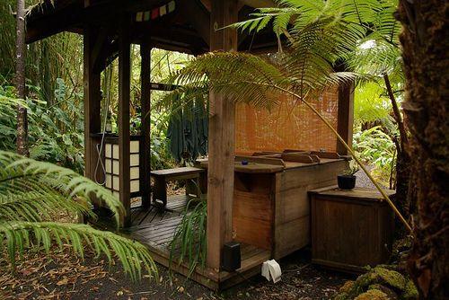 Traditional Japanese Soaking Tub Secret Wood Cabin Pinterest