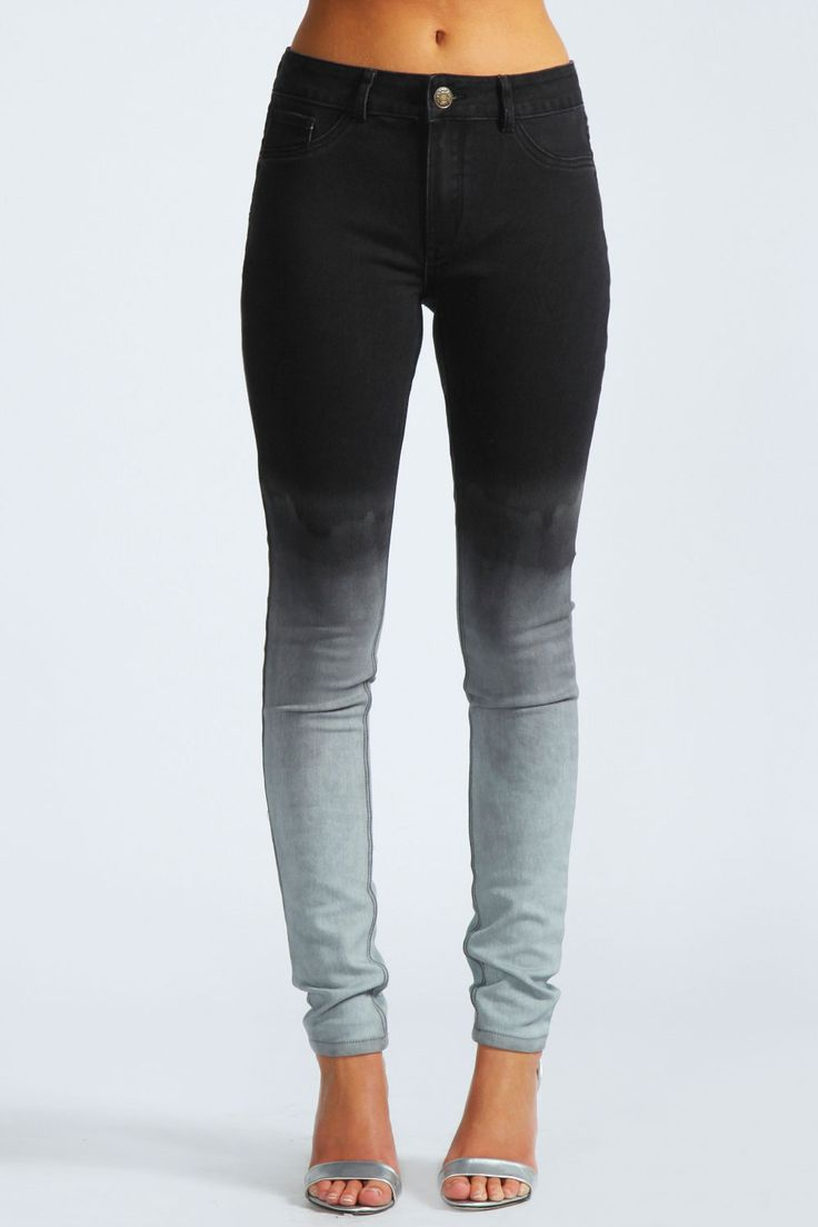 Rhona Dip Dye Ombre Super Skinny Jeans  Get 7% Cash Back http://www.studentrate.com/all/get-all-student-deals/Boohoo-com-Student-Discounts--/0