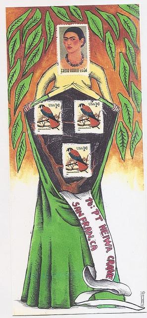 mail art by william schaff