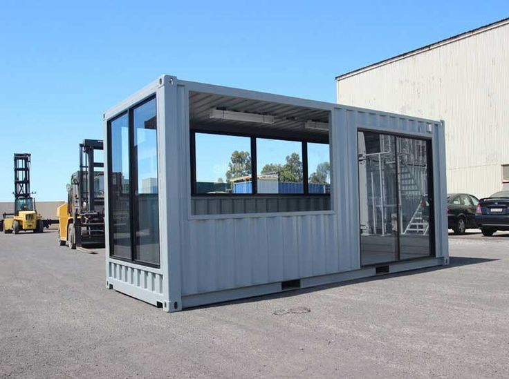 A shipping container cafe or 39 pop up cafe 39 is a great way to make your business stand out let - Container store home office ...