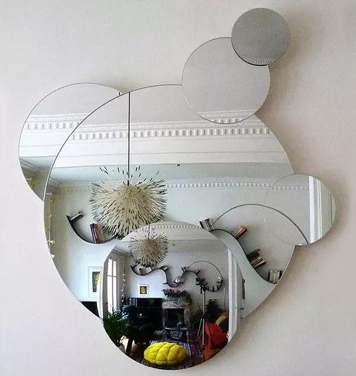 Roche bobois aqua mirror designed by sophie larger me gusta pinterest miroirs mobilier for Miroir design roche bobois