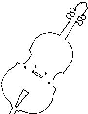 22 best images about music storytime on pinterest drums for Cello coloring page